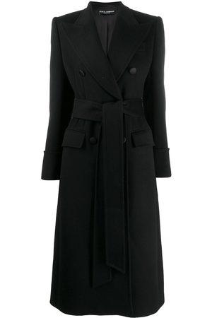 Dolce & Gabbana Damen Mäntel - Mantel mit Taillengürtel