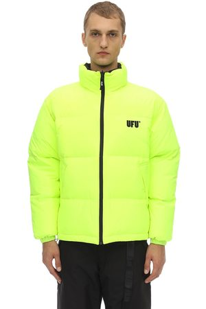 UFU - USED FUTURE Reversible Logo Puffer Jacket