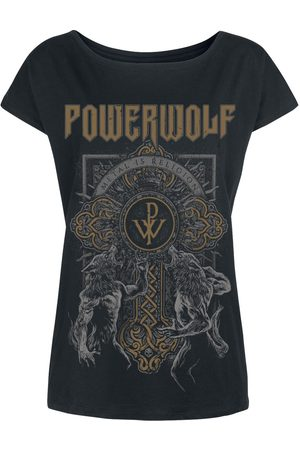 Powerwolf Wolf Cross T-Shirt