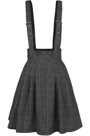 Jawbreaker Grey Days High Waisted Skirt Kurzer Rock