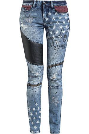Rock Rebel Damen Cropped - Skarlett Jeans