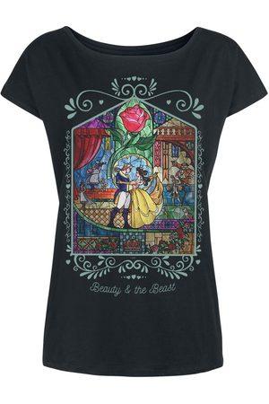Die Schöne und das Biest Damen T-Shirts, Polos & Longsleeves - Rose T-Shirt