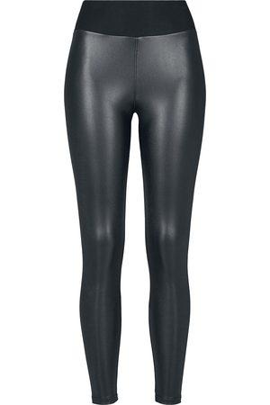 Urban classics Ladies Faux Leather High Waist Leggings Leggings