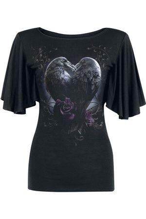 Spiral Raven Heart T-Shirt