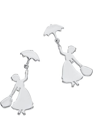 Mary Poppins Disney by Couture Kingdom - Flying Ohrstecker-Set silberfarben