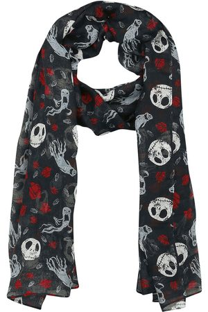 The Nightmare Before Christmas Jack Skellington - Ghost & Roses Tuch multicolor