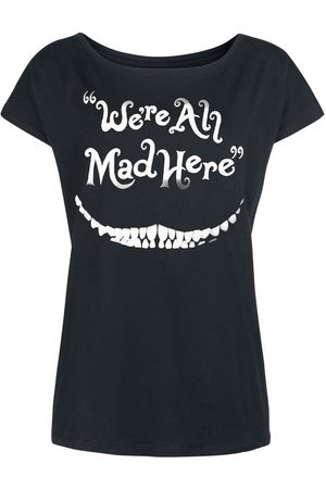 Alice im Wunderland Grinsekatze - We're All Mad Here T-Shirt