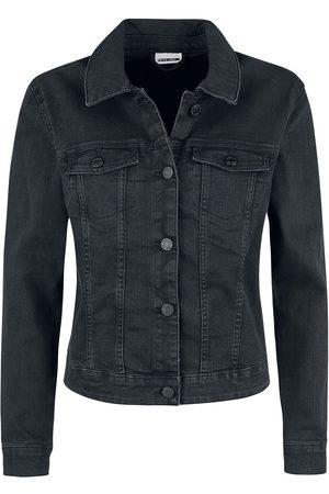 Noisy May Debra Black Wash Denim Jacket Jeansjacke
