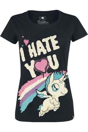 Einhorn I Hate You T-Shirt