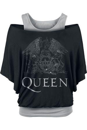 Queen Damen T-Shirts, Polos & Longsleeves - Crest Logo T-Shirt /