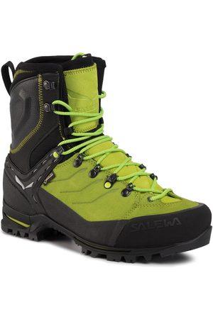 Salewa Trekkingschuhe - Ms Vultur Evo Gtx GORE-TEX 61334 0916 Black/Cactus