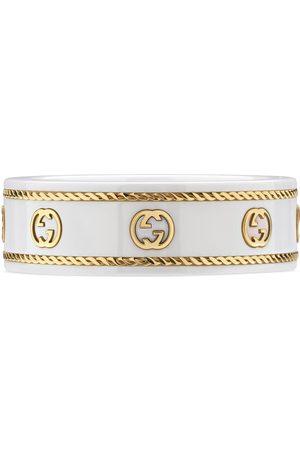 Gucci Ringe - Icon Ring mit GG aus Gelbgold