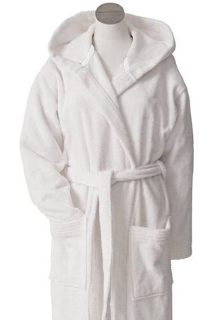 """Marc O' Polo Frottee-Bademantel """"Timeless"""", weiss, XL"""