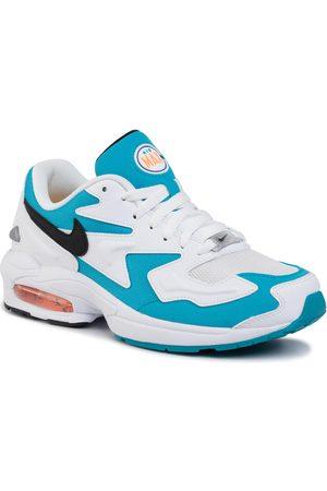Nike Schuhe - Air Max2 Light AO1741 100 White/Black/Blue Lagoon
