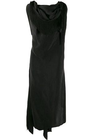 AGANOVICH Kleid mit drapiertem Ausschnitt