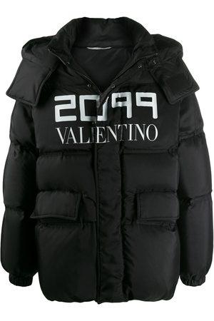 "VALENTINO Daunenjacke mit ""2099 ""-Print"