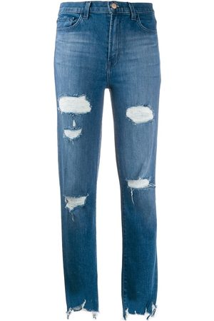 J Brand Skinny-Jeans im Distressed-Look
