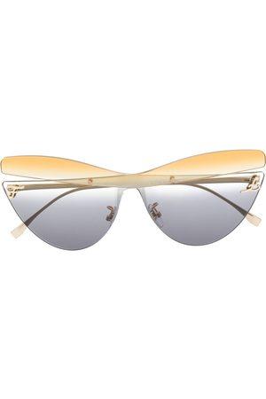Fendi Klassische Cat-Eye-Sonnenbrille