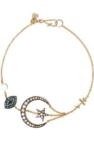 ANNOUSHKA 18kt 'Love Diamonds Lunar' Gelbgoldarmband mit Diamanten