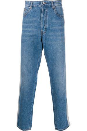 Roberto Cavalli Jeans mit doppelten Streifen