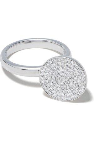 Tasaki Damen Ringe - 18kt Weißgoldring mit Diamanten und Südseeperle