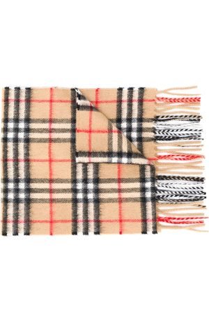 Burberry Karierter Strickschal