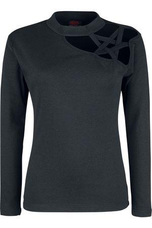 Gothic Elegance Langarmshirt