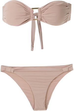 AMIR SLAMA Bikini mit Bandeau-Top