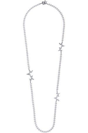 Tasaki 18kt 'Abstract Star' Weißgoldhalskette mit Diamanten