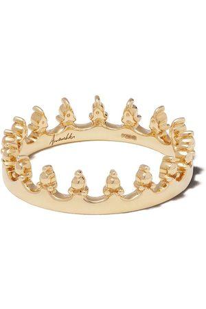 ANNOUSHKA 18kt 'Crown' Gelbgoldring