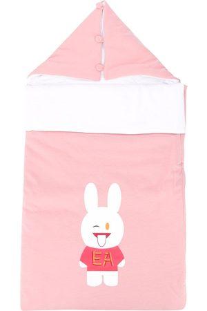 Emporio Armani Schlafsack mit Hasen-Print