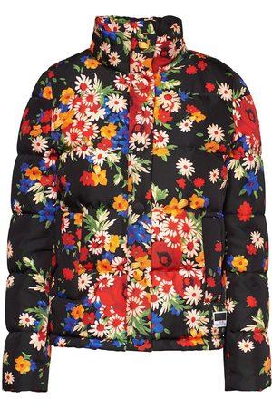 Miu Miu Gefütterte Jacke mit Blumen-Print