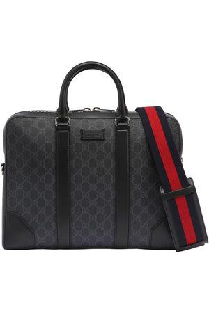Gucci Enge Aktentasche Mit Gg-supreme-logo