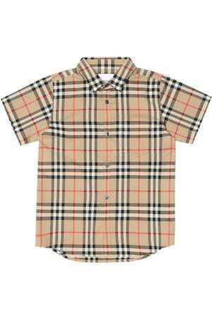 Burberry Kariertes Hemd aus Baumwolle
