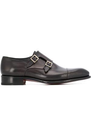 santoni Spitze Monk-Schuhe