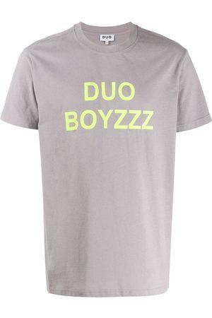 """DUO T-Shirt mit """" Boyzzz""""-Print"""