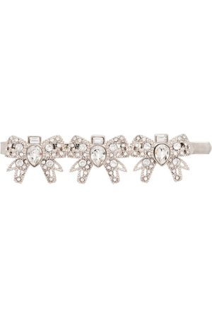 Miu Miu Damen Haarschmuck - Haarspange mit Kristallen