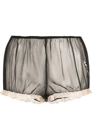 Kiki de Montparnasse Semi-transparente Shorts