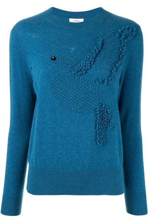 Onefifteen Damen Strickpullover - Texturierter Pullover