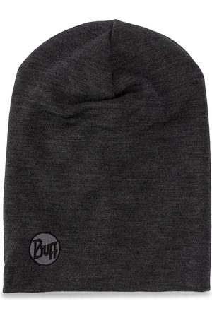 Buff Heavyweight Merino Wool Hat 111170.937.10.00 Solid Grey