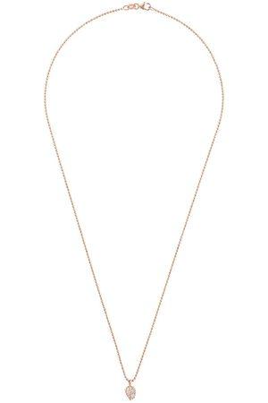 Anita 18kt Rotgoldkette mit Diamantenmond