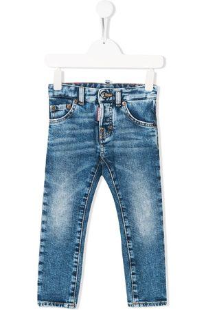 Dsquared2 Kids Ausgeblichene Skinny-Jeans