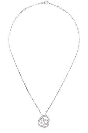 Boucheron 18kt Weißgoldhalskette mit Diamanten