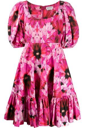 Alexander McQueen Kleid mit Print