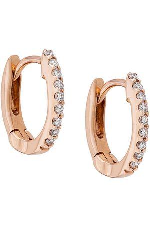 Dana Rebecca Designs Damen Ohrringe - 14kt 'DRD' Rotgoldohrringe mit Diamanten