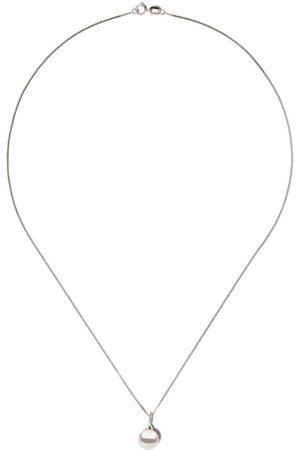 Yoko London 18kt Weißgoldhalskette mit Diamanten