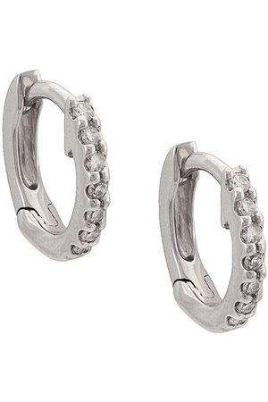 Dana Rebecca Designs 14kt Weißgoldohrringe mit Diamanten