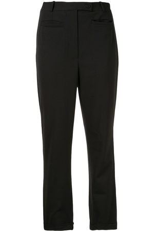 CHANEL 1998 Schmale Cropped-Hose