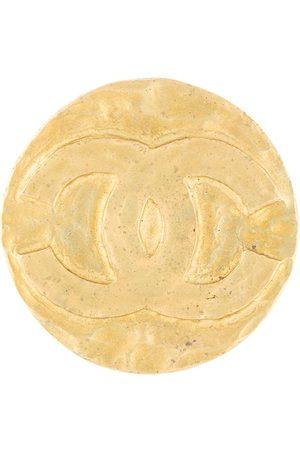 CHANEL Brosche mit CC-Logo