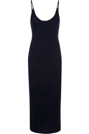 Kiki de Montparnasse Damen Freizeitkleider - Langes Trägerkleid aus Kaschmir